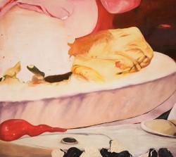 Fiction #1, 2005, huile sur toile, 125 x 140 cm