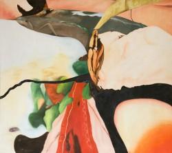 Fiction #2, 2005, huile sur toile, 125 x 140 cm