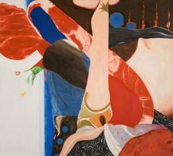 Fiction #5, 2006, huile sur toile, 125 x 140 cm