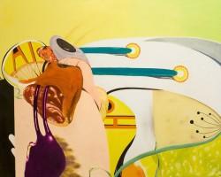 Collision, 2006, huile sur toile, 130 x 162 cm