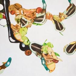 Envolée, 2008, huile sur toile, 150 X 150 cm
