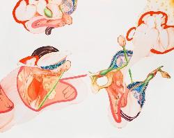 Métisse, grande #1, 2009, huile sur toile, 130 X 162 cm