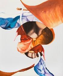 sans titre, 2009, huile sur toile, 56 X 46 cm